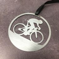 David Mayne 'Road Bike' Steel Decoration